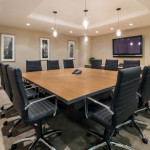 Chanin Meeting Room comfortably accommodates 15 people