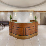 Reception area at Virgo Grand Central, 380 Lexington Avenue