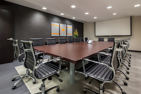 Turtle Bay Meeting Room comfortably accommodates 18 people
