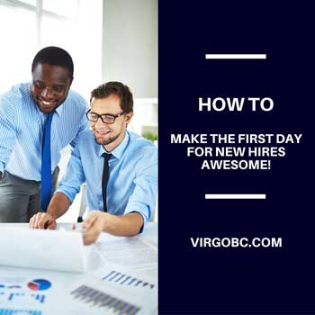 How to make the first day for new hires awesome