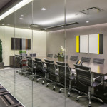New Yorker Meeting Room comfortably accommodates 20 people