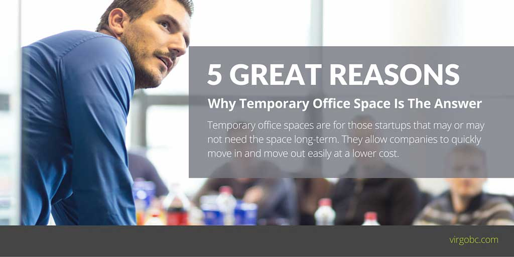 5 Great Reasons Why Temporary Office Space Is The Answer